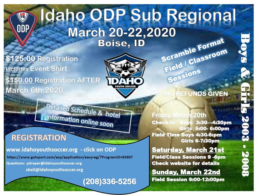 ODP Subregional flyer