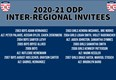 ODP Inter-Regional Selections