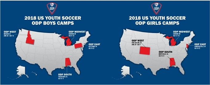 Idaho ODP players receive Regional Camp invites