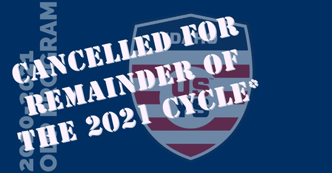 REMAINDER OF 2021 ODP CYCLE CANCELLED