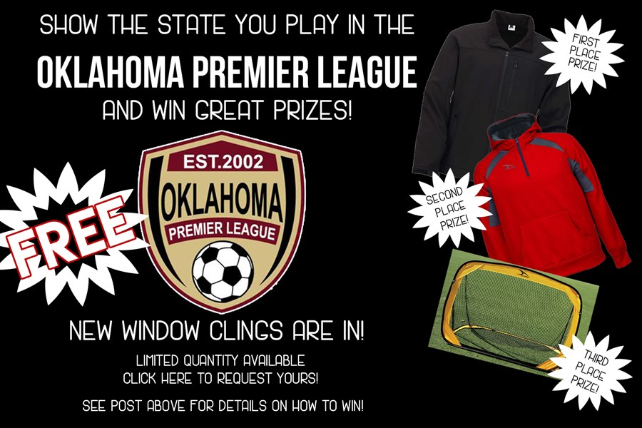 OPL Window Cling Contest