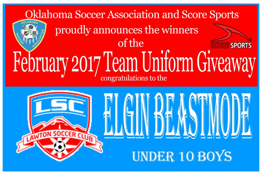 Score February 2017 Elgin Beastmode