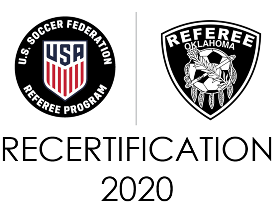2020 Referee Recertification