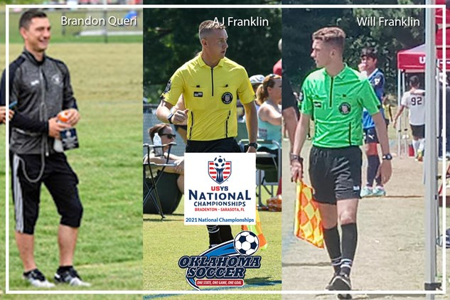 3 Oklahoma Referees invited to Nationals