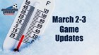 March 2-3 Game Updates!
