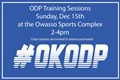 ODP Training Session