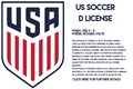 U.S. Soccer D License - Spots Available