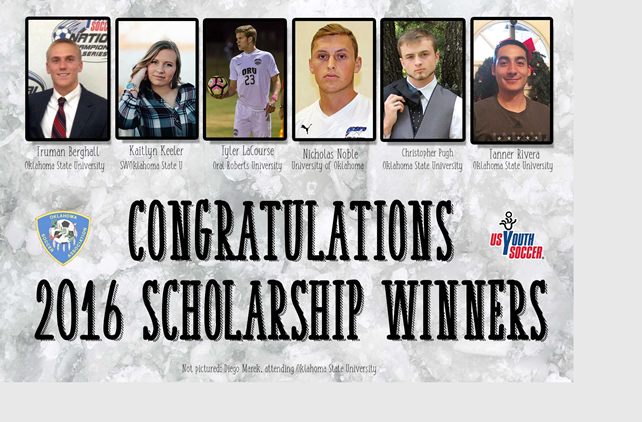2016 Scholarship Award Winners