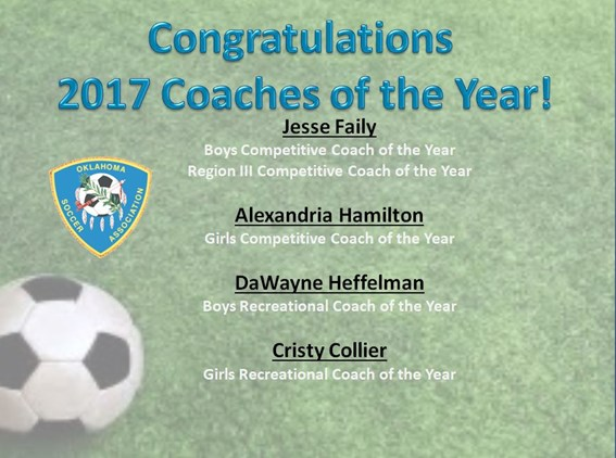 2017 Coach of the Year!