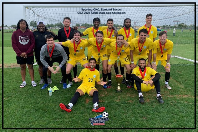 2021 Adult State Cup Winners!