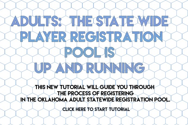 Adult Player Registration