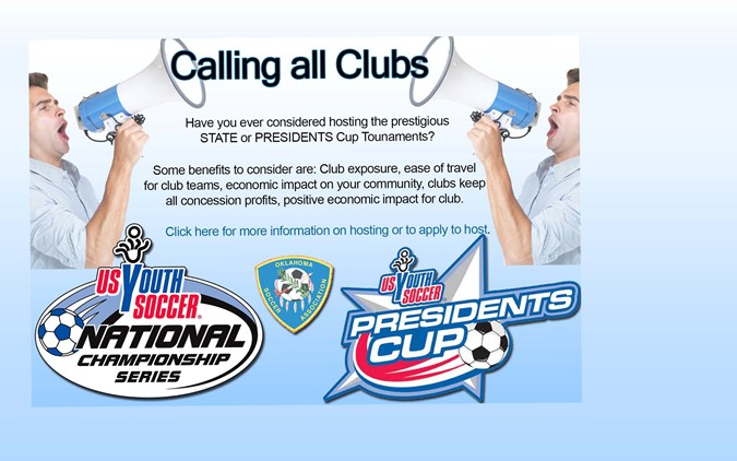 Clubs - Host State or Presidents Cup!