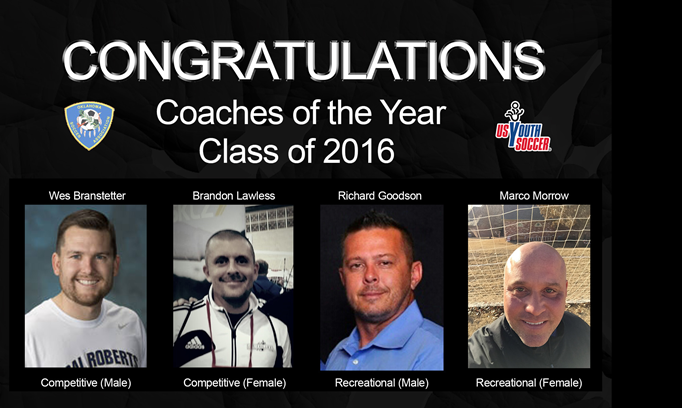 2016 Coaches of the Year