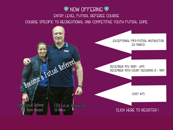 Futsal Referee Course