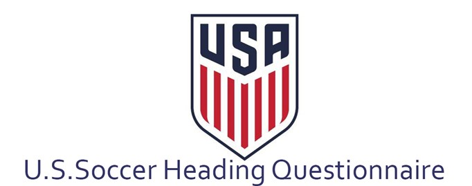 U.S. Soccer Heading Questionnaire
