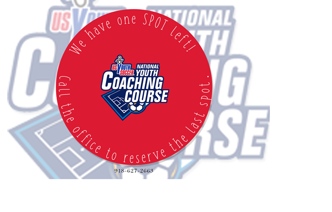 National Youth Coaching Course - Last Spot