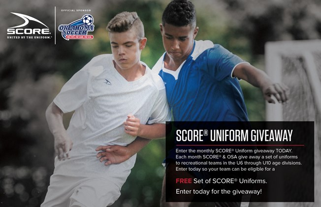 Enter the OSA / Score Uniform Giveaway!