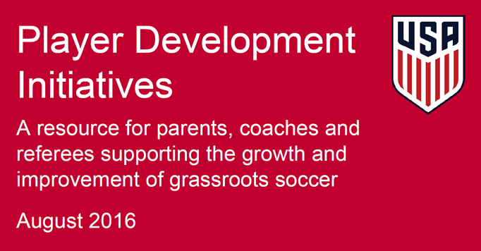 Player Development Initiatives 2016