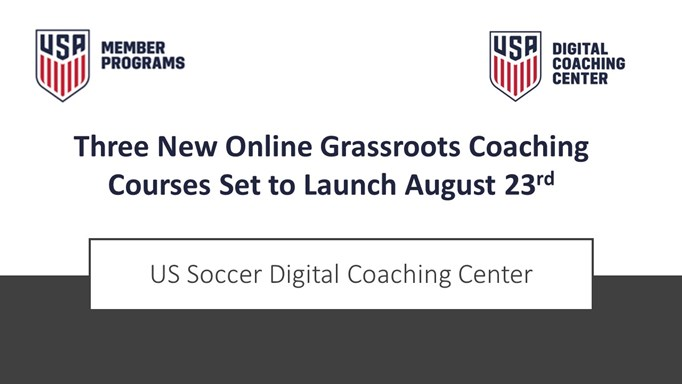 New Online Grassroots Coaching Courses!