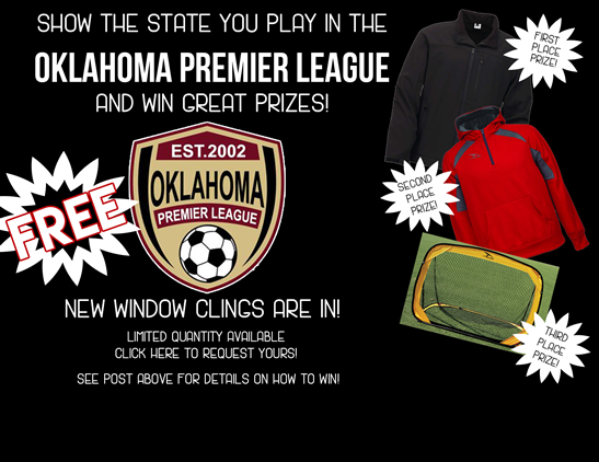 OPL Window Cling Contest!