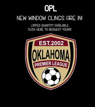 OPL Window Cling Giveaway