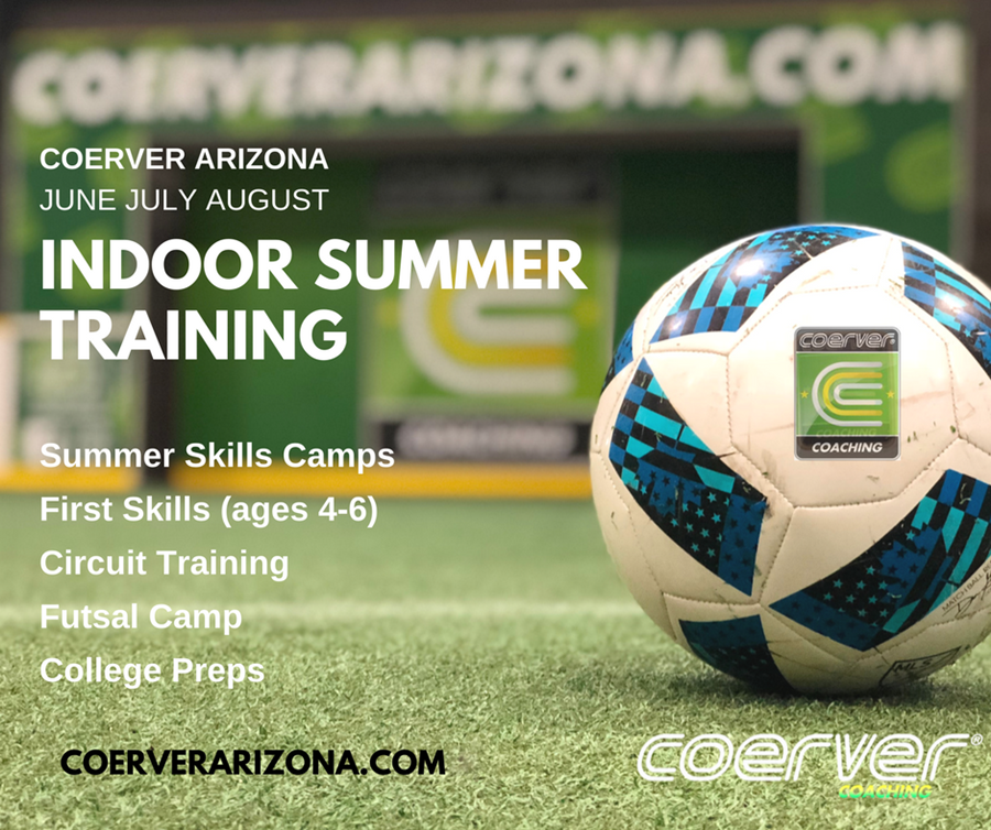Coerver Summer Camp graphic