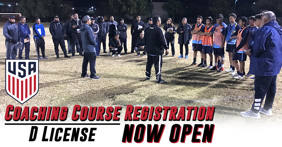Registration Open - National D License Course | Arizona Youth Soccer