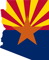 flag_map_of_arizona