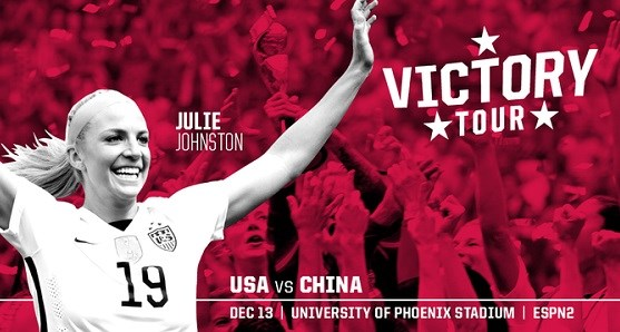 USWNT VICTORY TOUR TICKETS