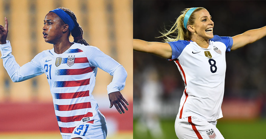 huge discount 8598f e553e Julie Ertz & Jessica McDonald Named To World Cup Roster ...