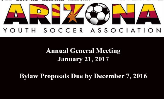 AGM - Bylaw Proposals Due By December 7