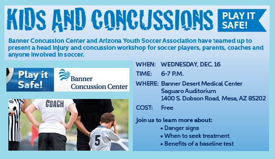 KIDS & CONCUSSIONS WORKSHOP