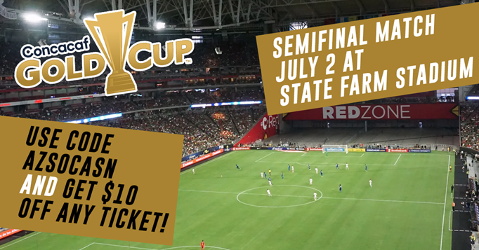 Get $10 Off Gold Cup Semifinals Tickets
