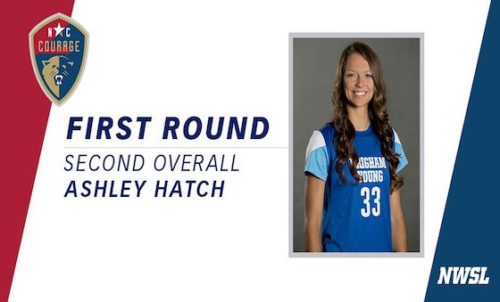 AYSA Alumni Ashley Hatch selected No.2 by NC...