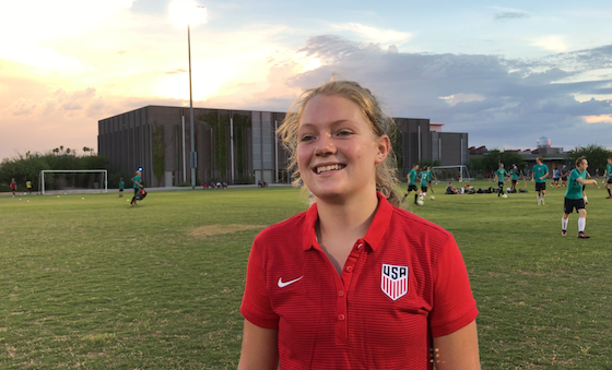 Arizona native Mollie Griswold named to U16 YNT