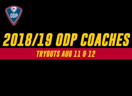 2018/19 ODP Coaching Staff Announced