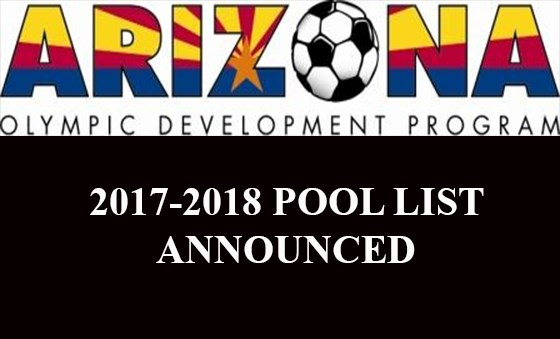 AZ ODP POOLS ANNOUNCED