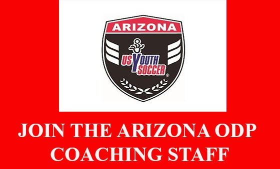 Join the Arizona ODP Coaching Staff