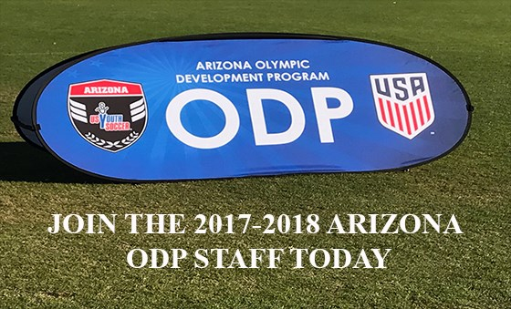 ARIZONA ODP STAFF 2017-2018