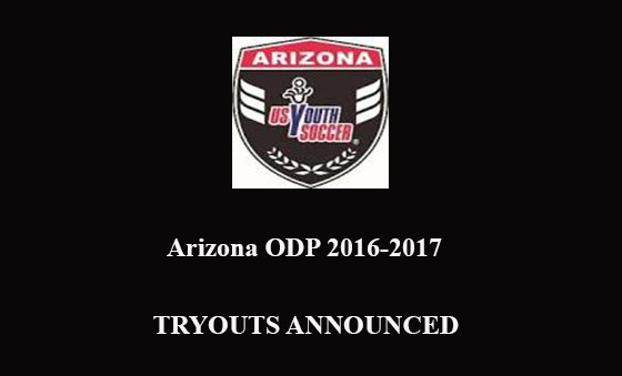 ODP TRYOUTS ANNOUNCED