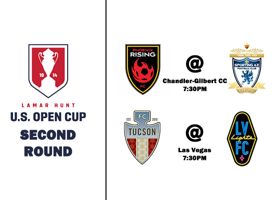 3 AZ Teams Set For U.S. Open Cup 2nd Round