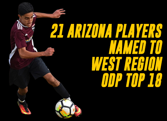 21 Arizona Played Named To ODP Top 18