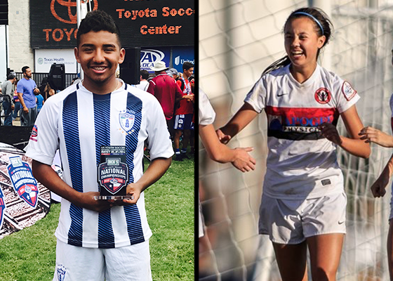 Chiao and Villalba Named To Best XI At...