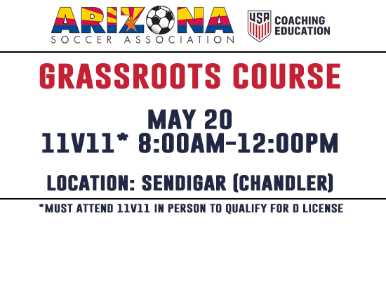 Register For 11v11 Grassroots Course