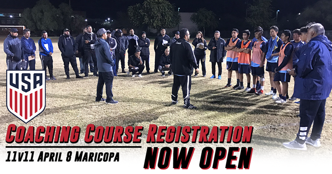 US Soccer 11v11 Coaching Course - Maricopa April