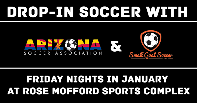 Friday's in January - Drop-in Soccer at Rose Mof