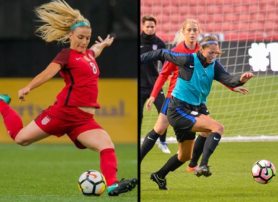 Ertz & Hatch Named To USWNT For Upcoming SheBeli
