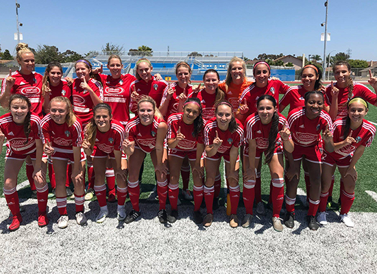 FC Tucson Women Win Pac South Conference