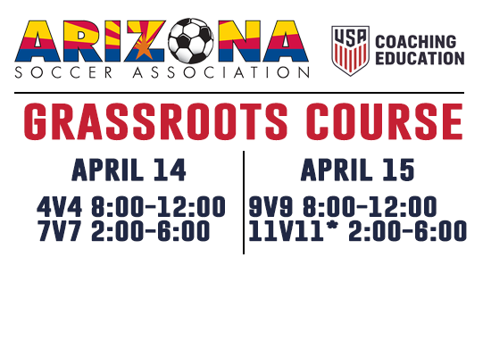 Grassroots Course Registration Now Open