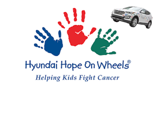 This Saturday - Hyundai Hope on Wheels